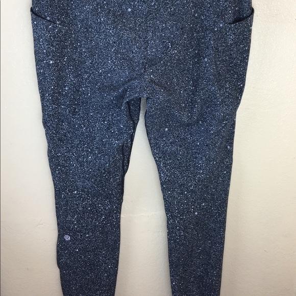 55e7d62099 lululemon athletica Pants - Rare Lululemon Speckled Legging Pants Size 12